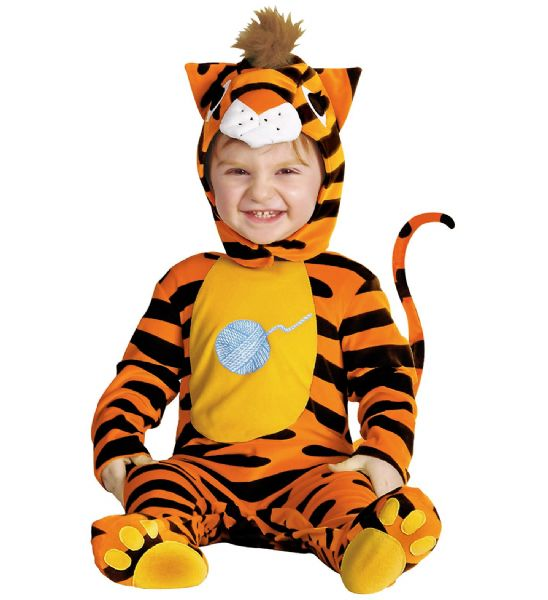 Toddler Baby Tiger Costume Animal Fancy Dress